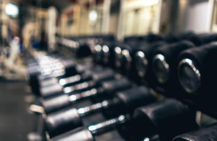 Dumbbells From The Hope House Scottsdale Rehab Fitness Center