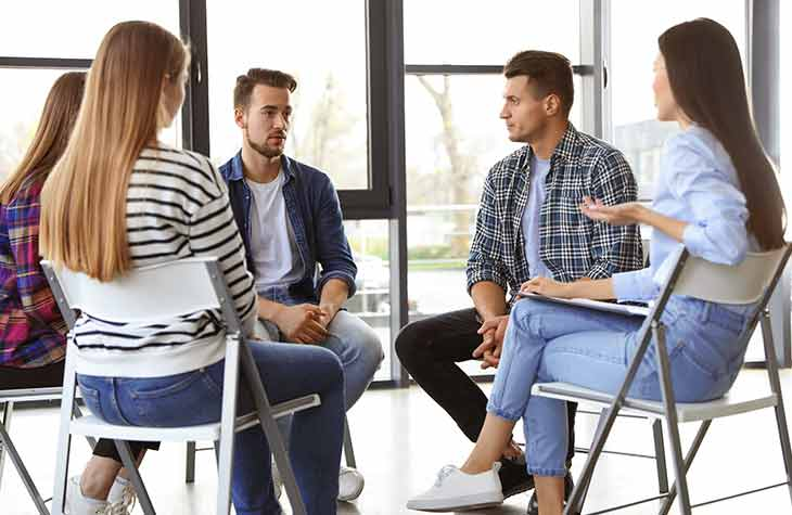 What To Expect In Rehab Day 3 And On Client Partakes In Individual And Group Therapy