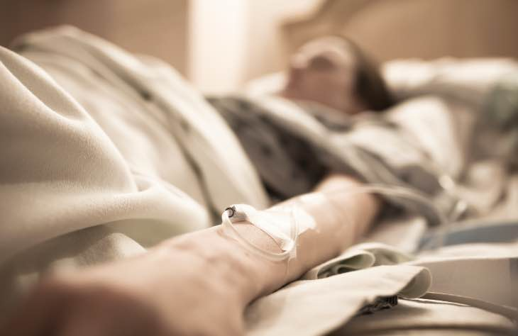 Patient Receive Critical Treatment For Alcohol Withdrawal
