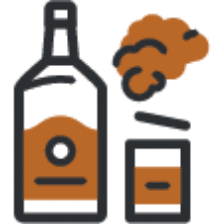 Icon Of Alcohol For The Medical Definition Of Alcohol Dependence