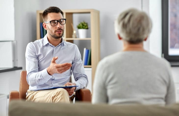 Individual Therapy Session About The Hope House