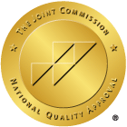 Seal of Joint Commission Accreditation for The Hope House
